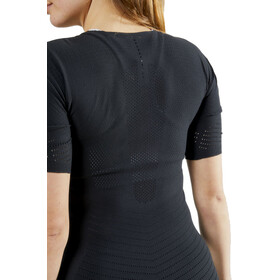 Craft CTM Camiseta Interior Manga Corta Cuello Redondo Mujer, black